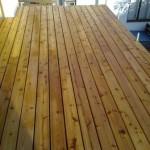 Dřevěná terasa Červený cedr