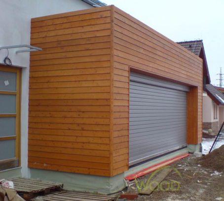 Dřevěná fasáda Sibiřský modřín