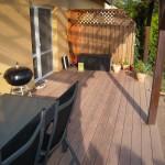 dřevo plastová terasa Wpc