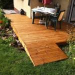 Dřevěná terasa Thermowood