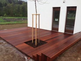 Dřevěná terasa Merbau