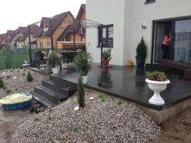 Realizace teras z dřevo/plastu