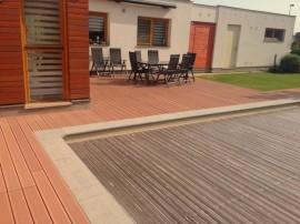 Dřevo-plastová terasa