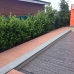 Dřevo/plastová terasa Woodparket