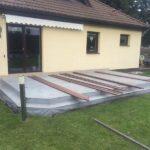 Izolace terasy před pokládkou dřevoplastu