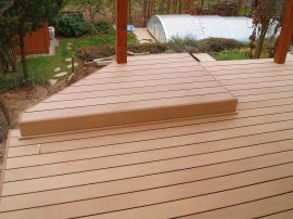 Dřevo plastová terasa Emo