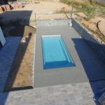 WPC terasa u bazénu