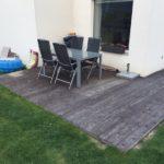 dřevěná terasa po letech