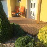 dřevoplast použit na terase, woodparket