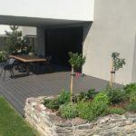 dřevoplastová terasa u domu