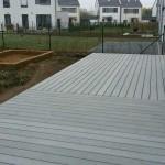 drevoplastová teras, montáž woodparket