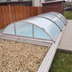 obložení terasy u bazénu