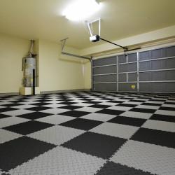 Fortelock podlaha v garáži