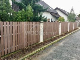 Rekonstrukce dřevěného plotu