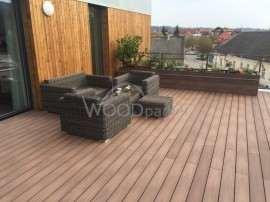 dřevoplast na terase