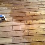 Dřevěná terasa Cedr