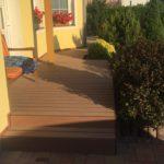 Realizace terasy Palisander Plus Dřevoplast ukázka 5