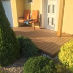 Realizace terasy Palisander Plus Dřevoplast ukázka 4