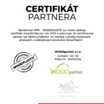 Certifikát terasy Woodplastic 2020 Terasové centrum Praha