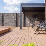Authentic palisander, zastínění terasy, woodparket