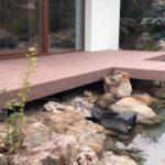 Zahradní domek s jezírkem, woodparket