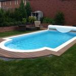 Obklad bazénu desky
