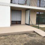 Realizace terasy u bytového domu