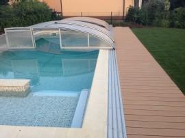 Obklad bazénu z wpc