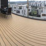 Střešní terasa s krytinou WoodPlastic