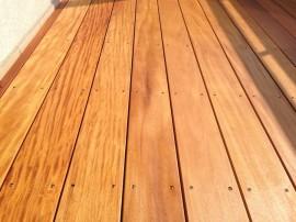 Realizace dřevěné terasy Garapa