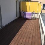 Dřevěná a WPC terasa