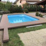 terasa u bazénu, woodparket realizace