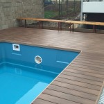 ukončení terasy do bazénu