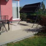 dřevoplastová terasa nahradila dlažbu