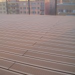 realizace dřevo plastové terasy