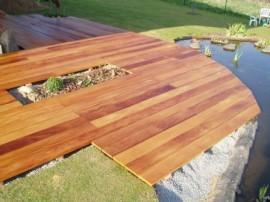 Dřevěná terasa Garapa