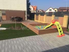 Woodparket, woodplastic, terasové centrum