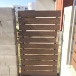 Wpc plaňky na plotě