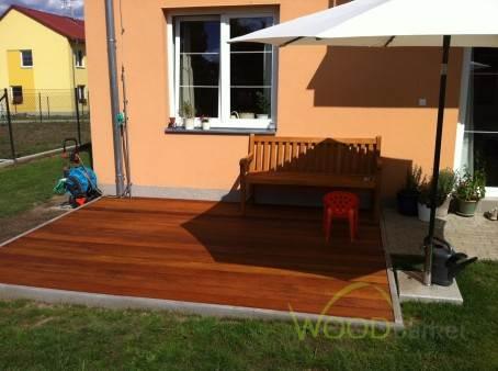 Dřevěná terasa ANGELIM AMARGOSO