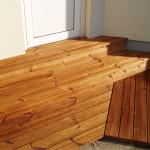 Dřevěná terasa Borovice THERMOWOOD