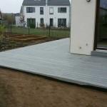 dřevěná terasa z materiálu wpc, woodparket