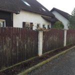 dřevěné planky na plot