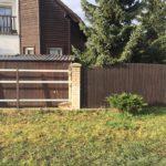 dřevěné planky na plot, rekonstrukce