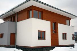 Dřevěná fasáda Borovice