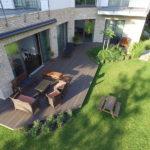 Ukázka realizace terasy před domem