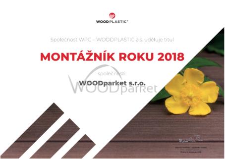Wooplastic montážník roku Woodparket