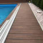 obklad bazénu, woodparket