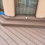 obklad schodiště z woodplasti, woodparket