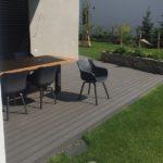 prostor na terase pro sezení