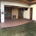 realizace WPC terasy u domu